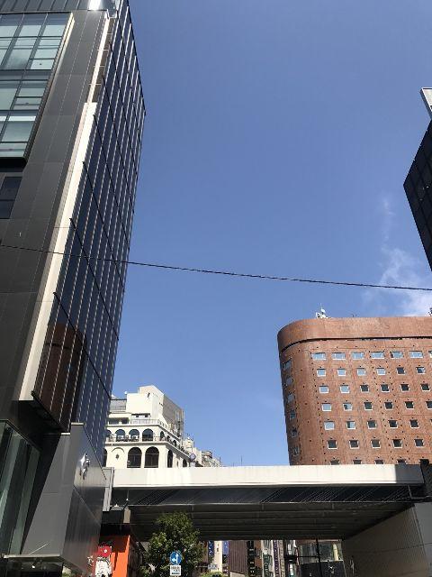 4月19日の銀座・新橋お天気情報