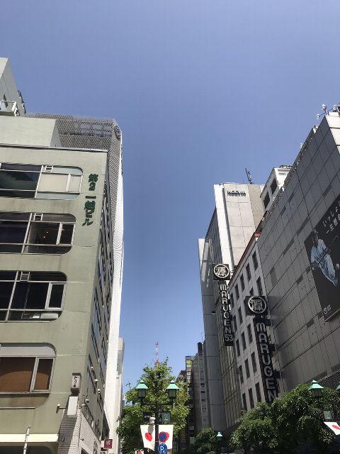5月2日の銀座・新橋お天気情報