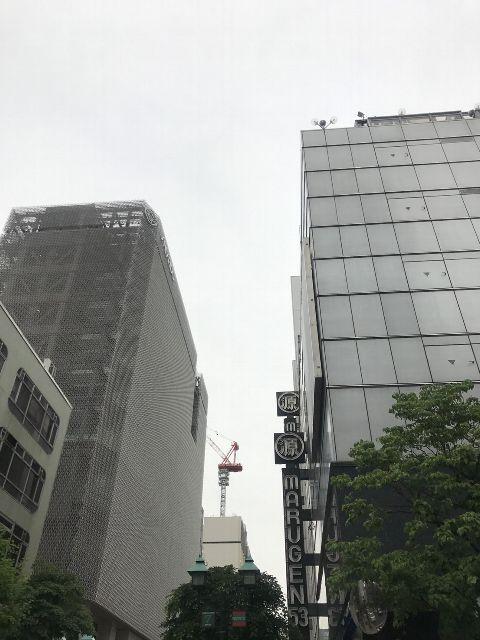 5月9日の銀座・新橋お天気情報
