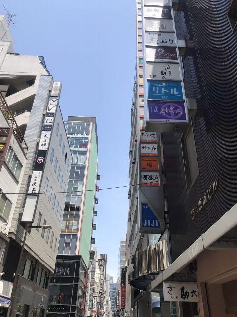 5月22日の銀座・新橋お天気情報