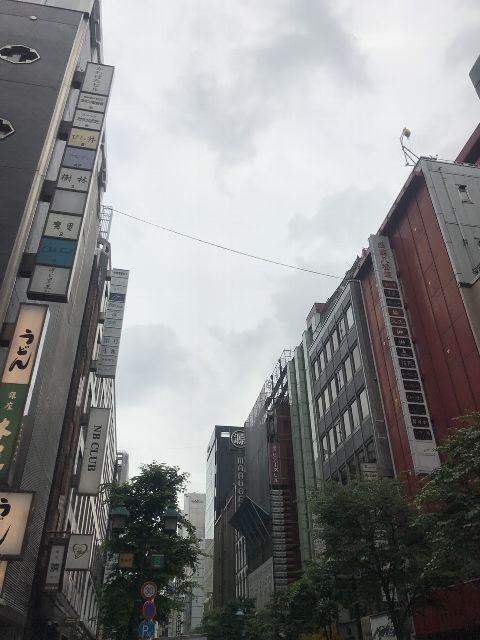 5月25日の銀座・新橋お天気情報
