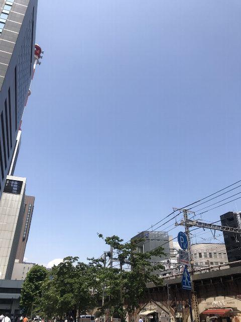 6月23日の銀座・新橋お天気情報
