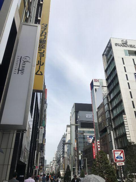 6月26日の銀座・新橋お天気情報