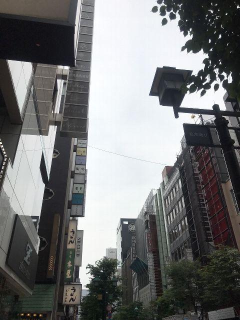 6月27日の銀座・新橋お天気情報