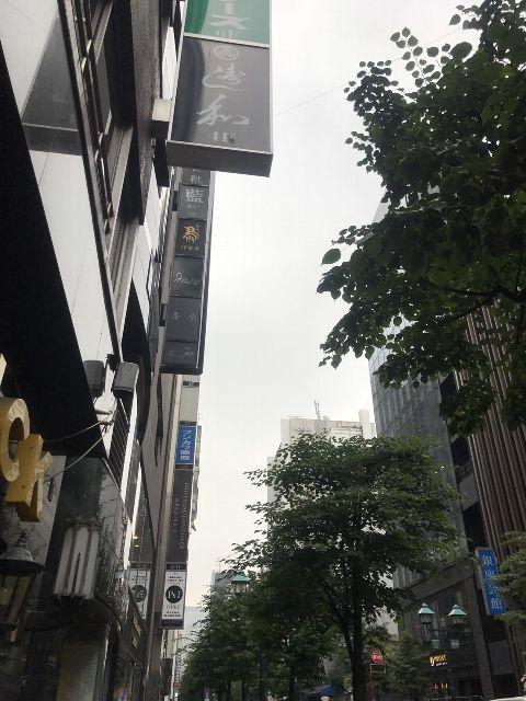 6月28日の銀座・新橋お天気情報