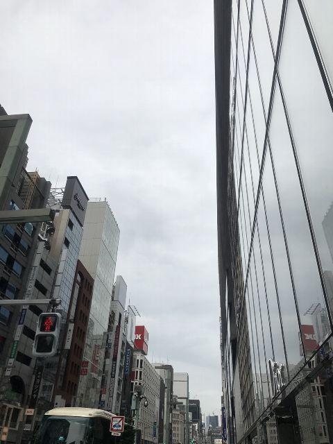 6月30日の銀座・新橋お天気情報