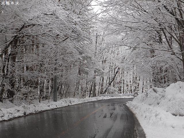 20170403雪の北軽井沢