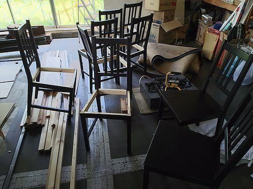 20170602椅子組み立てDIY1