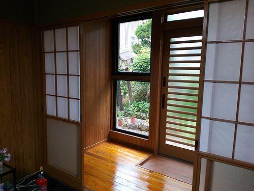 20170617宿泊玄関・窓完成4