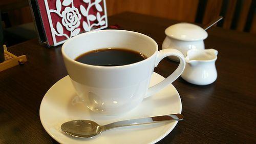 草津温泉カフェ花栞ドリンクメニューコーヒー