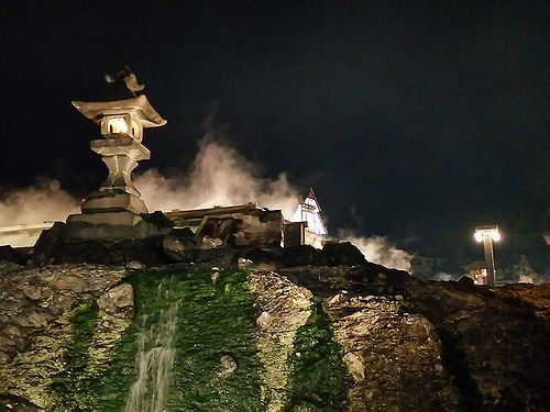 20170718草津温泉白根神社の祭り。湯畑7