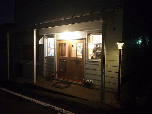 草津温泉カフェ花栞(はなしおり)街灯設置5