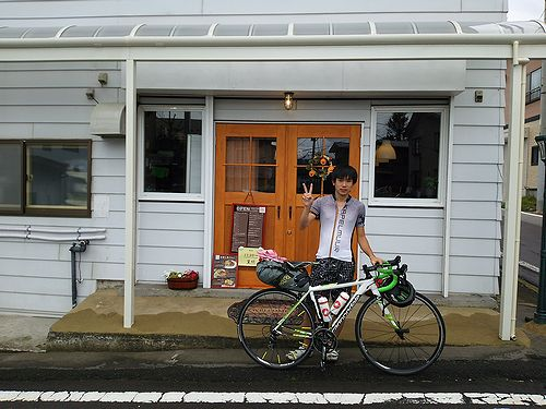 20170912草津温泉民泊花栞(はなしおり)サイクリストのお客様