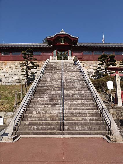 広島東照宮階段