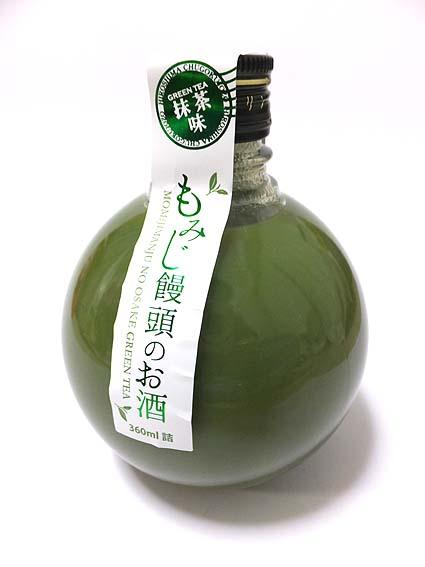 もみじ饅頭のお酒・抹茶味