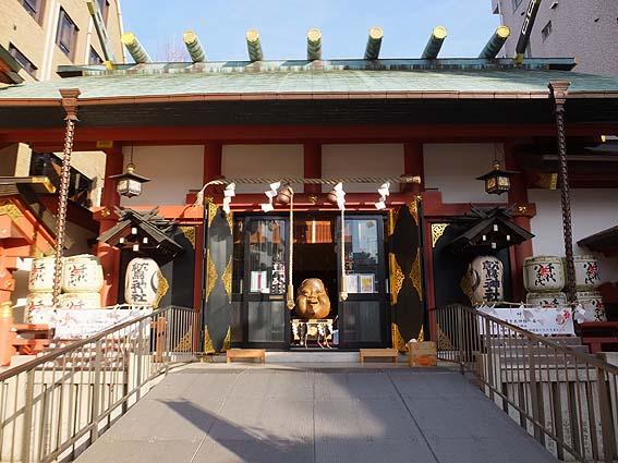 鷲神社拝殿