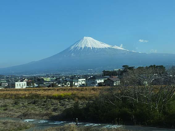 2017年3月16日の富士山