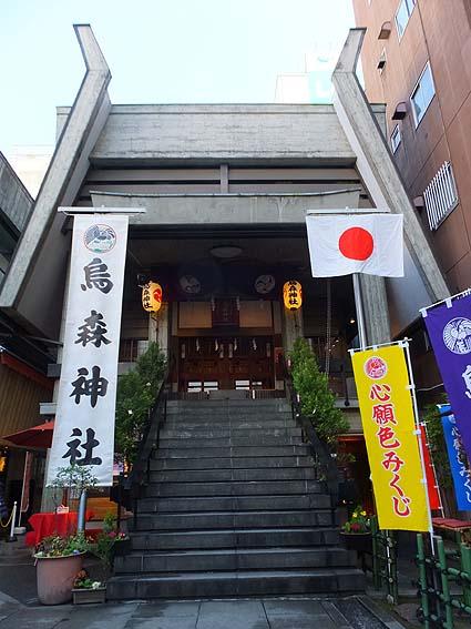烏森神社社殿