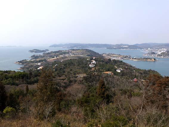 前島展望台からの風景