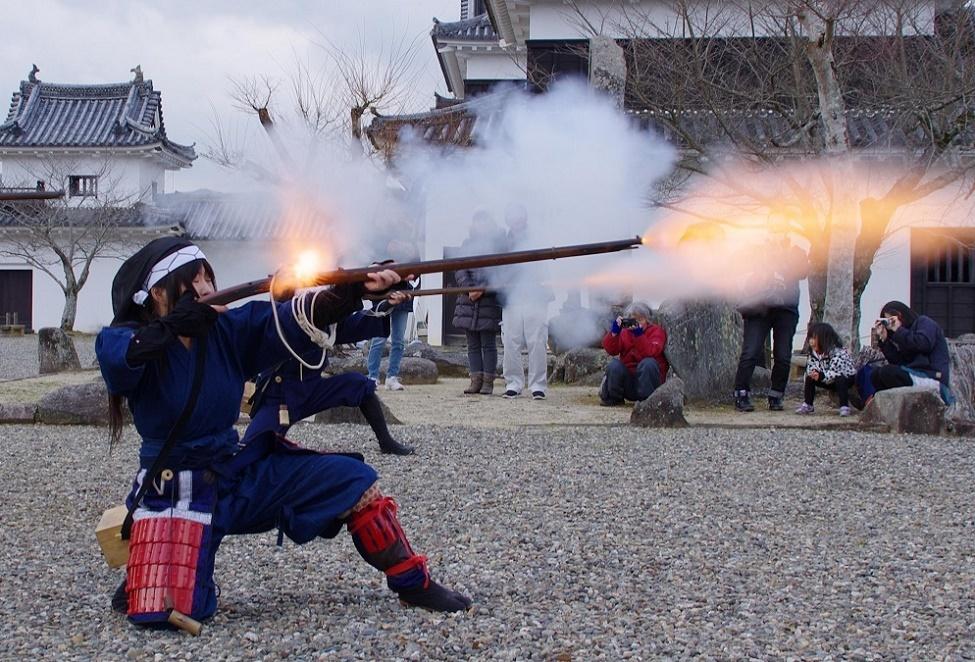 大洲藩鉄砲隊