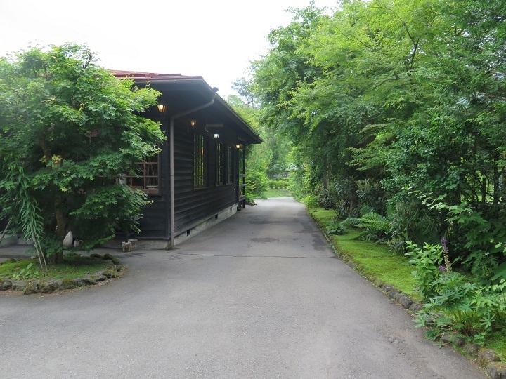 茶房脇の道