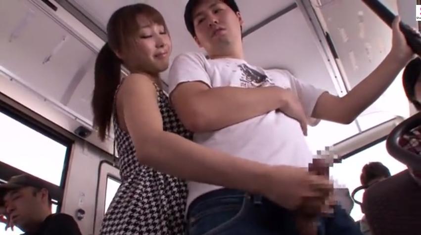 あやみ旬果 手コキ バス S女 M男