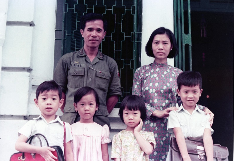 Chai family, Saigon, 1974