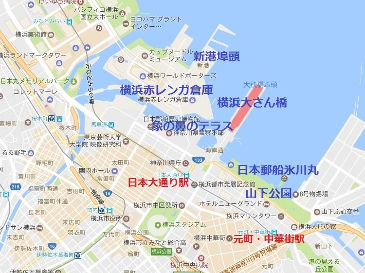 (地図)横浜新港埠頭
