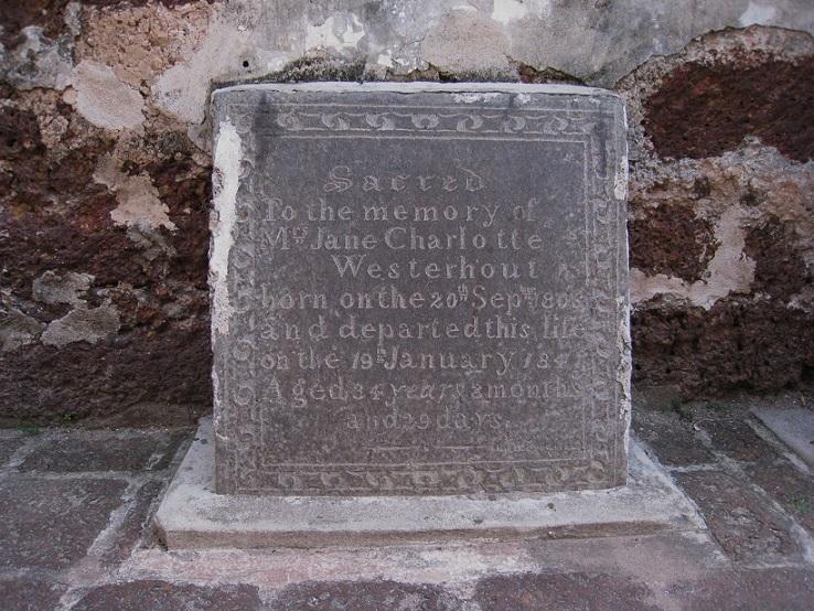 ウェスターホウトの墓石