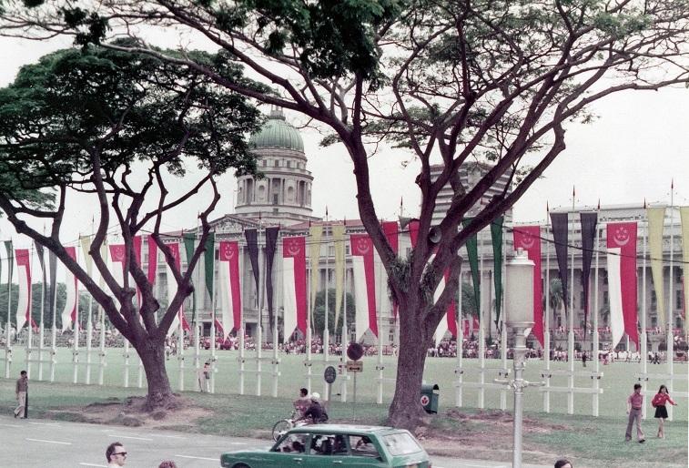シンガポール建国9周年1974