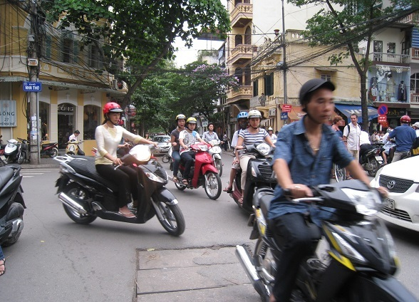 Old City in Hanoi
