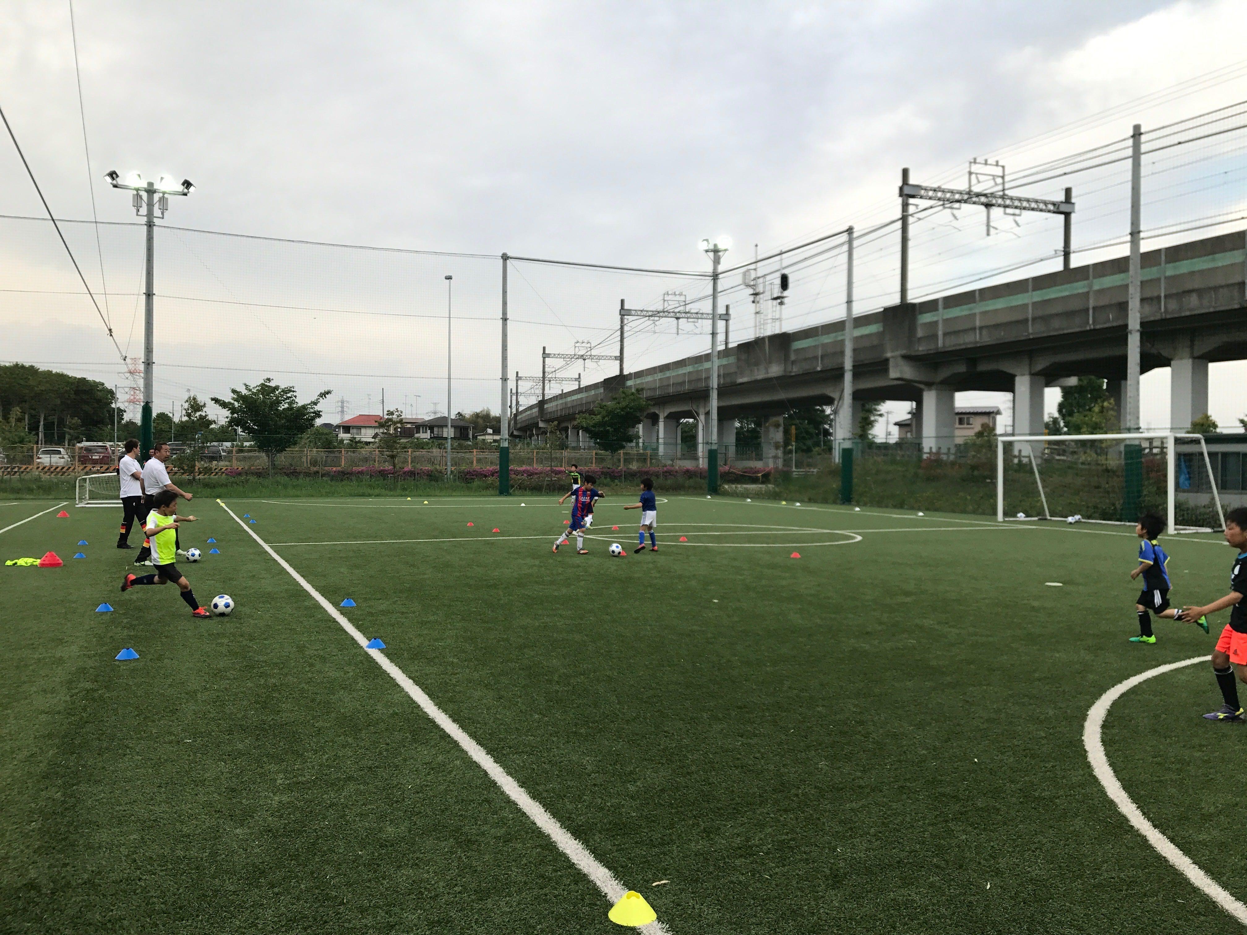 JGFA神奈川校第1回練習会(5月7日)