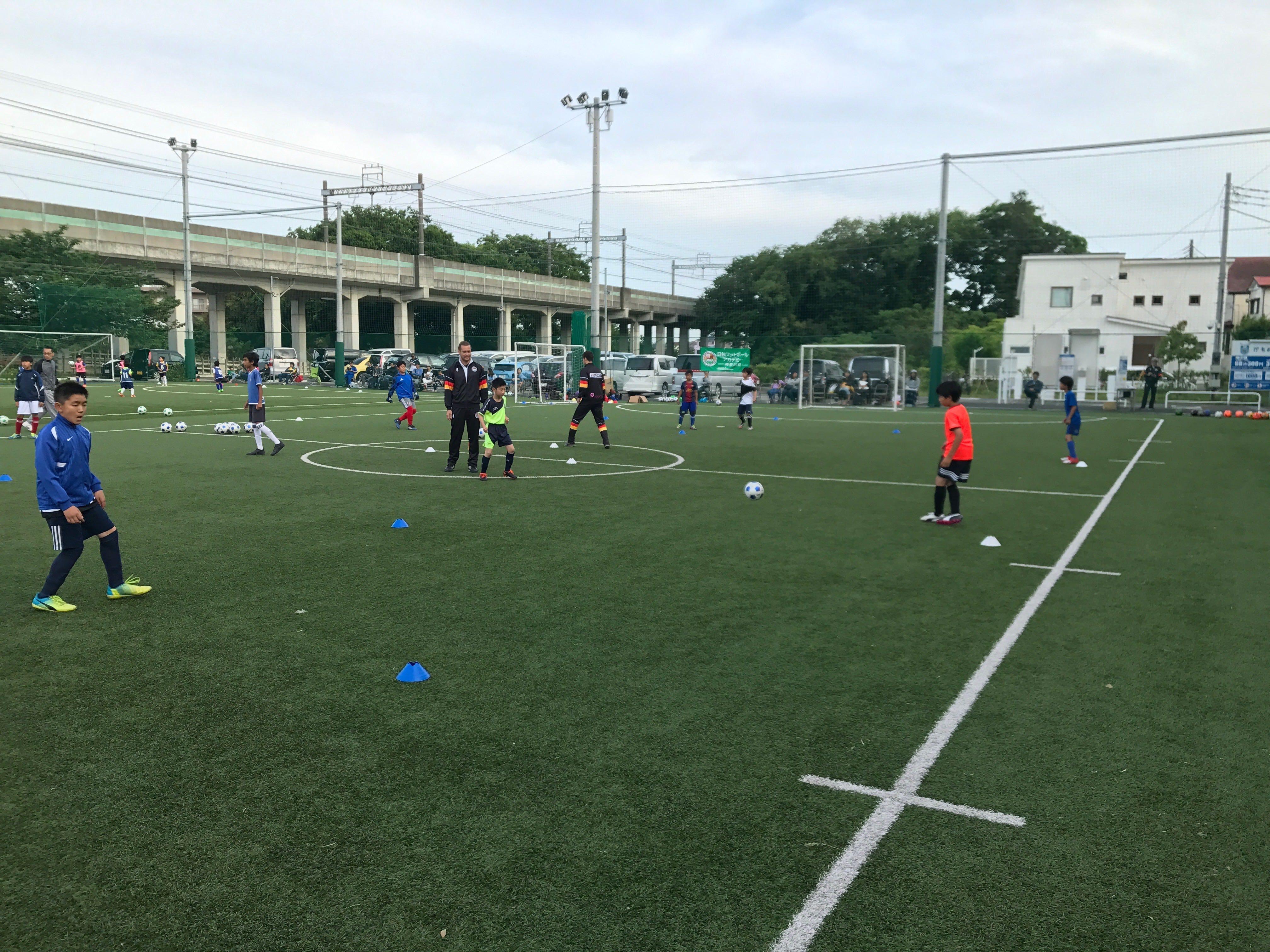 神奈川校練習会(2017年5月14日)3、4年生
