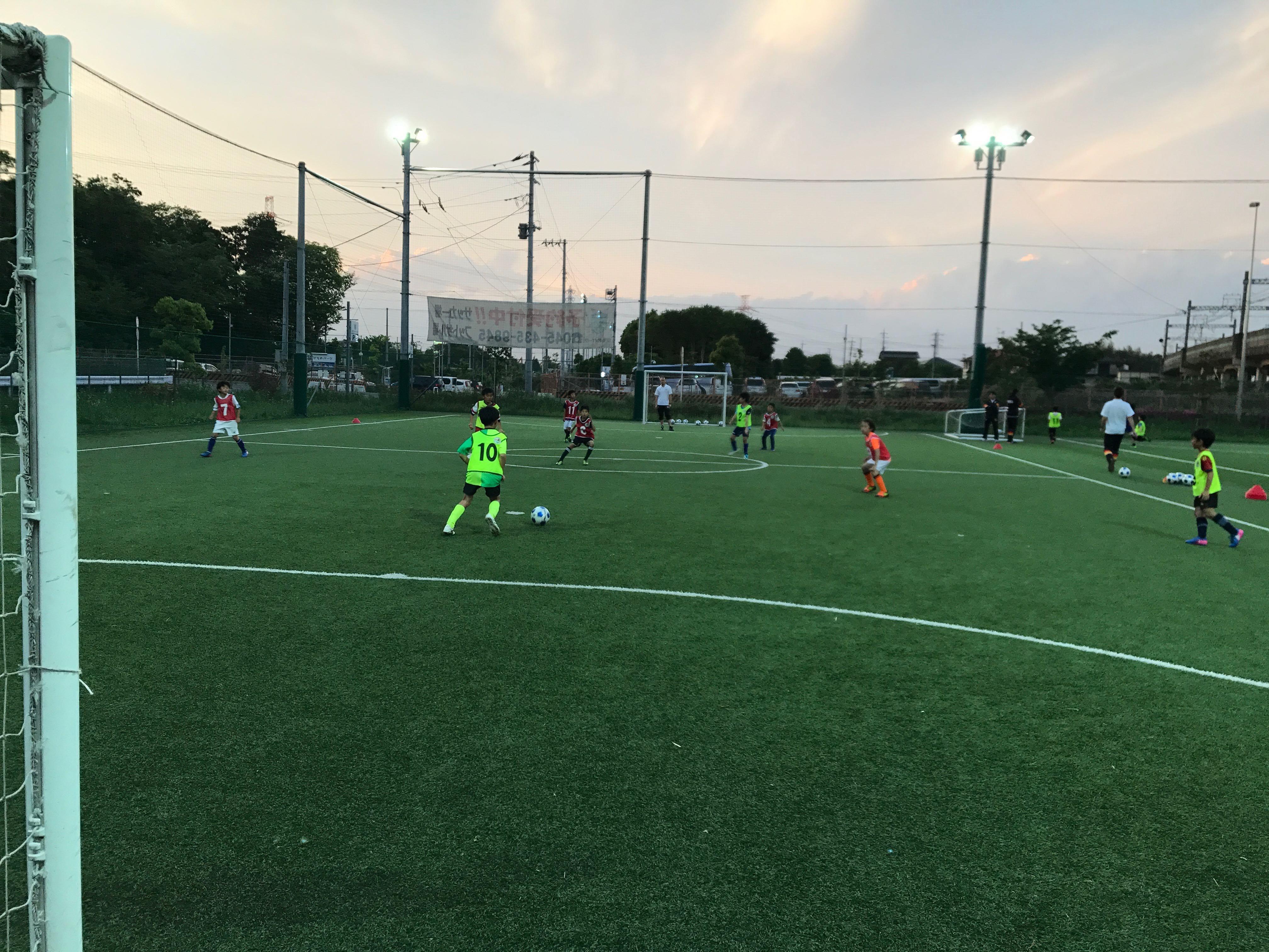 JGFA神奈川校第1回練習会(2017年5月7日)