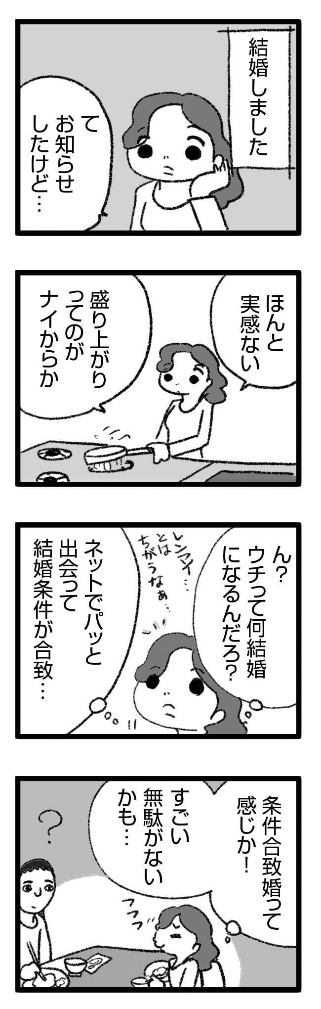 何結婚? 恋愛 見合い 結婚 婚活 漫画 マンガ まんが レス セックスレス プロポーズ