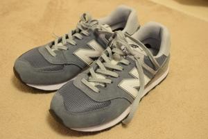 ニューバランスのスニーカーの靴紐の結び方3