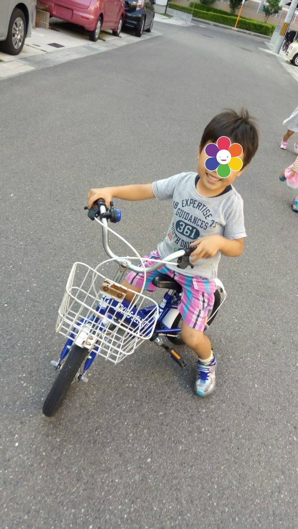 あっさりコマ無し自転車に乗れた日