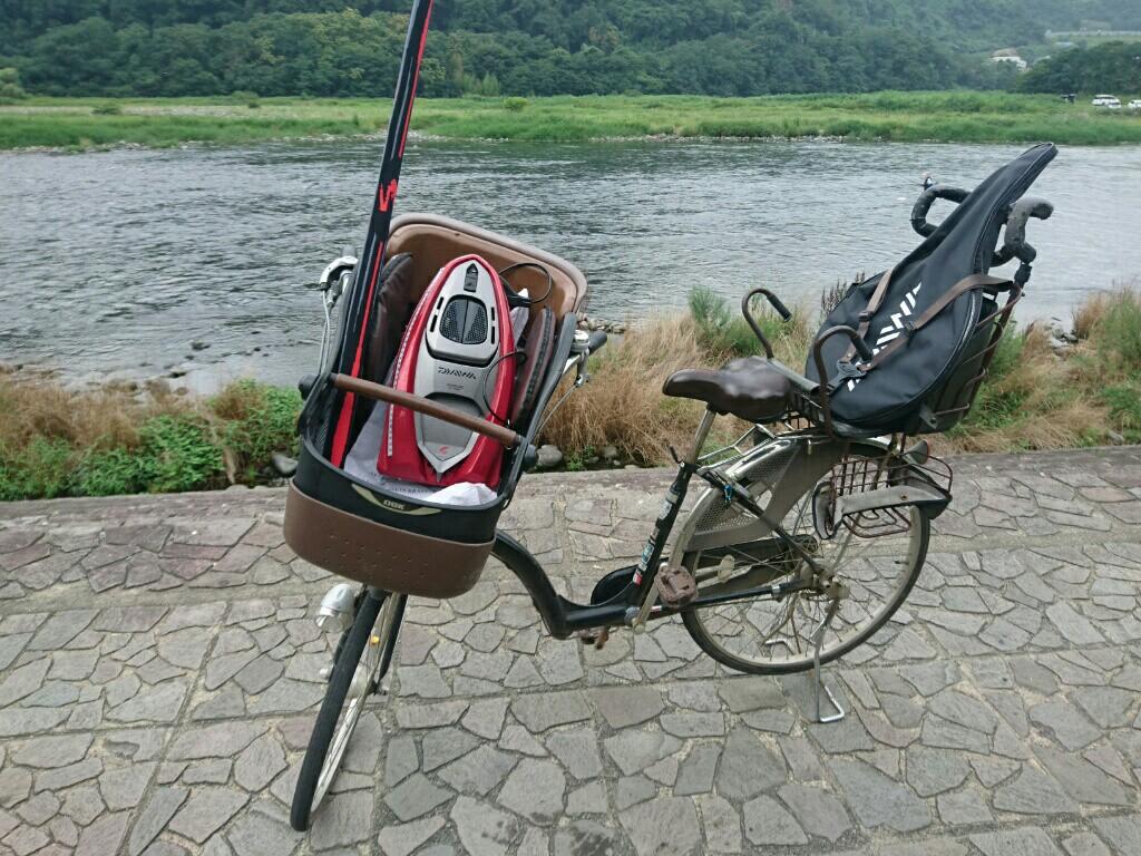 相模川へチャリンコ釣行を決行♪