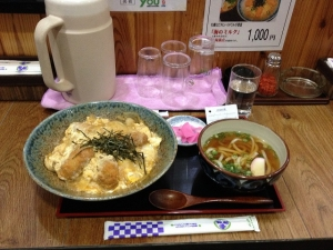 つる鶴カキフライ丼定食