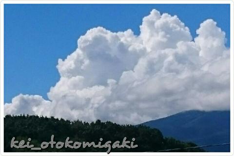 軽井沢の雲