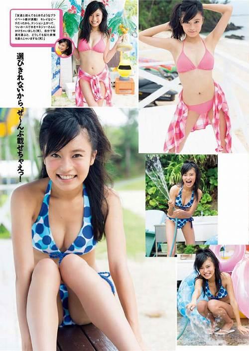 小島瑠璃子水着画像b10