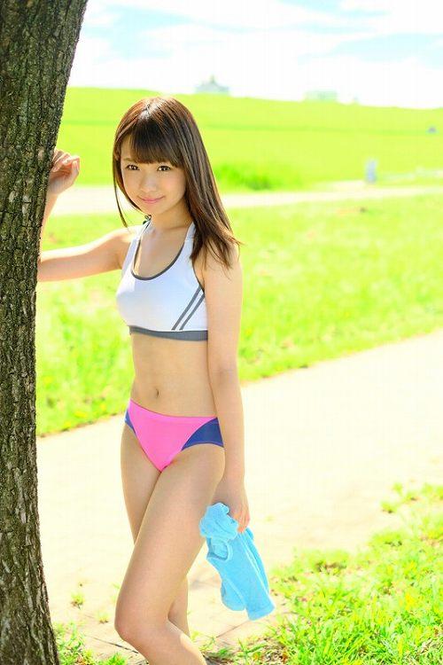 早乙女夏菜 童顔で可愛いマラソンアスリートのCカップ美乳おっぱい画像 表紙