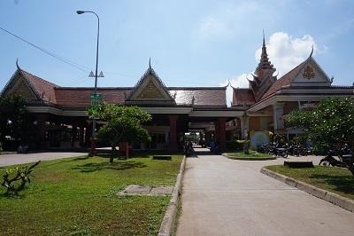 ベトナム→カンボジア (6)(国境カンボジア側)