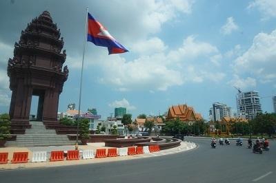 ベトナム→カンボジア (12)(プノンペン)