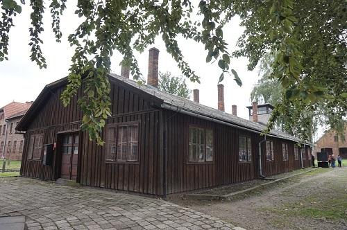 アウシュビッツ (33)SS衛兵所・収容所管理部室