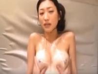 【お宝】壇蜜 ローションマッサージで生乳を揉まれるどころかハメ撮りまで披露!!