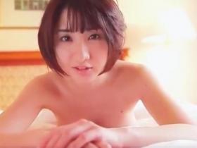 (お宝)尾崎ナナ ブラなしで寝てるところを起こして収録開始☆☆フィニッシュは裸になっちゃう
