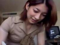 長谷川留美子 めっちゃ美人で超美乳のおねえさんをなし崩し的にハメ撮りに持ち込む