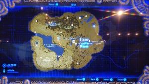 ゼルダのマップ