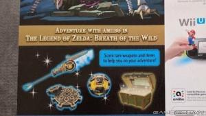 ガーディアンamiibo武器 ゼルダの伝説ブレスオブザワイルド